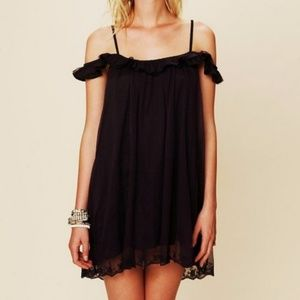 Free People Off The Shoulder Slip Dress